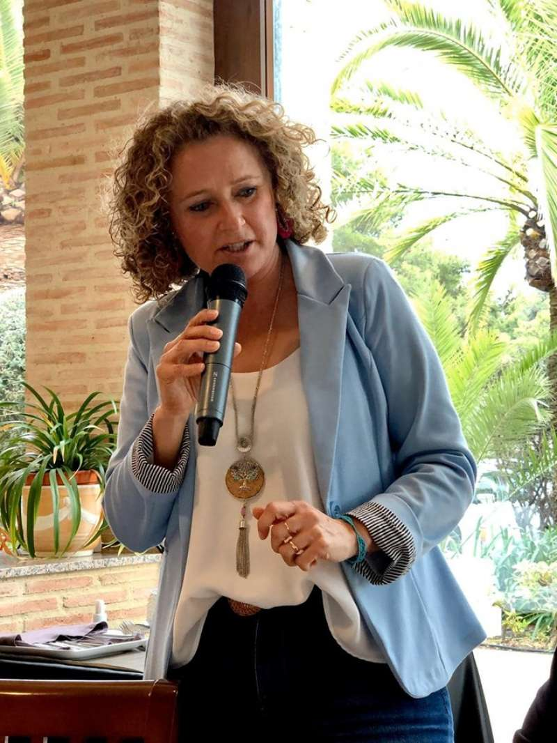 La portavoz de los populares en Torrent, Amparo Folgado. / EPDA