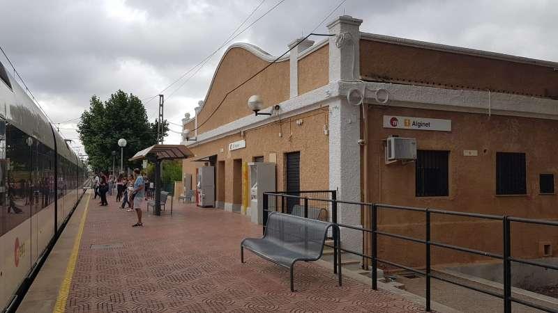 Estación de Alginet de Metrovalencia