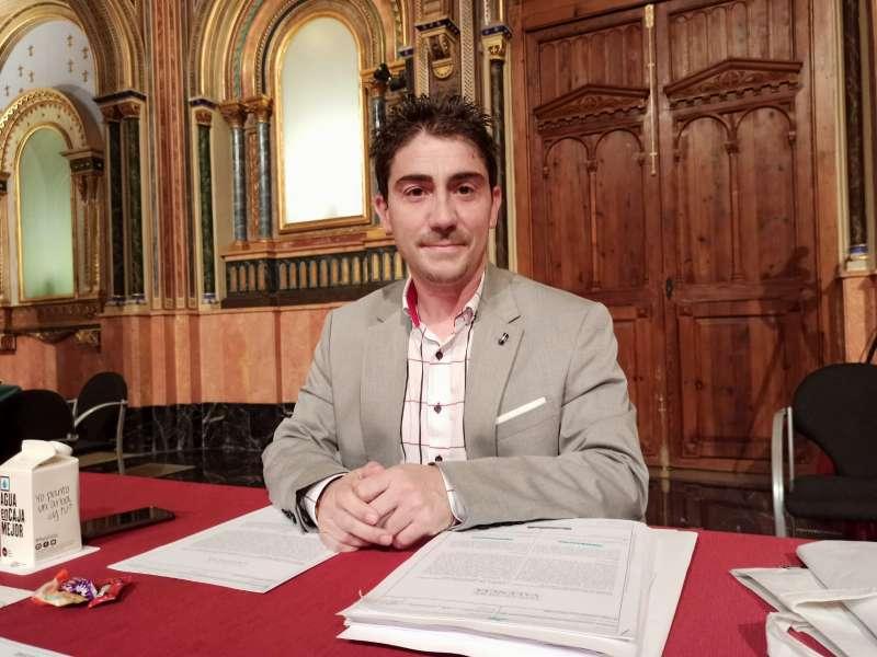 El portavoz de Ciudadanos Jesús Gimeno. EPDA