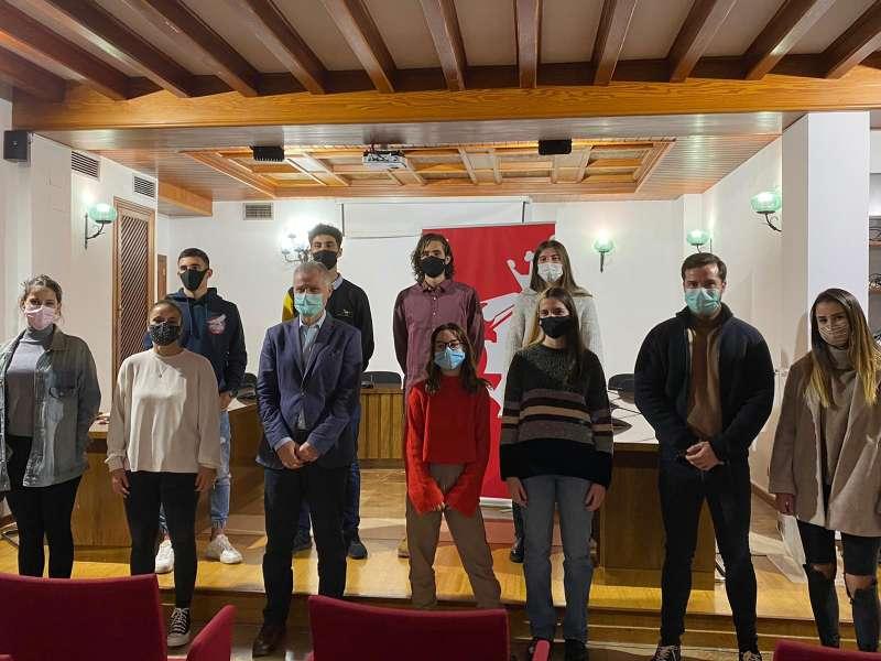 Els 9 estudiants de la localitat. / EPDA