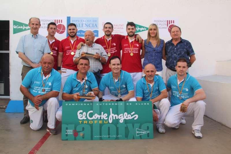 Alfara del Patriarca y Algimia campeones del Trofeo El Corte Inglés de galotxa