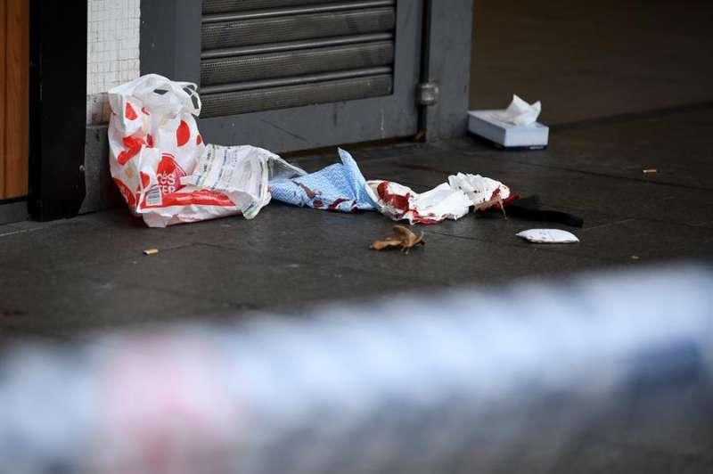 Imagen de archivo de la escena de un crimen. EFE/EPA/JOEL CARRETT
