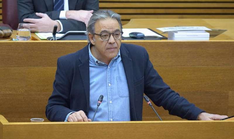 Manolo Mata, síndic socialista en Les Corts Valencianes. -EPDA