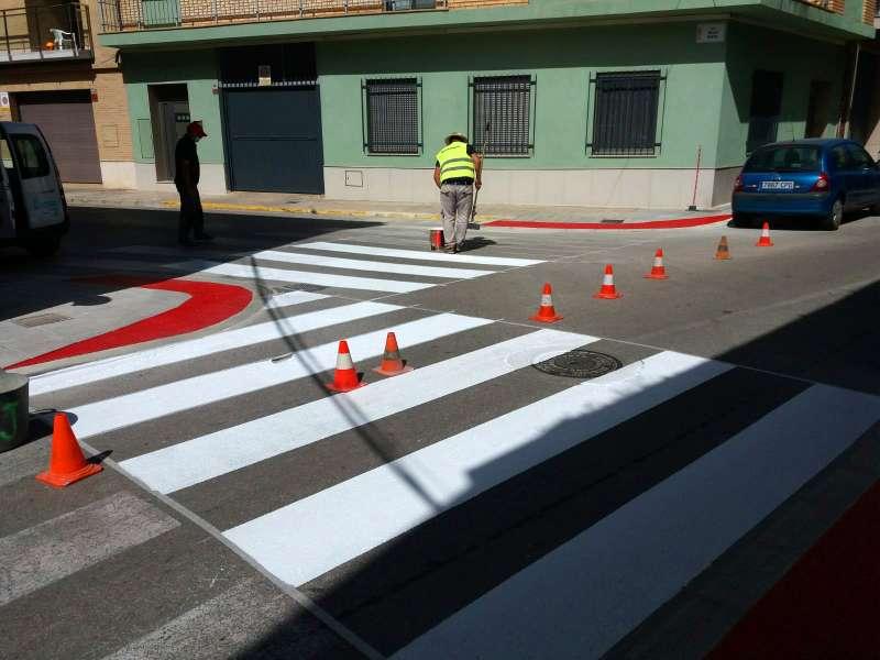 Mejoras de accesibilidad en Foios. EPDA