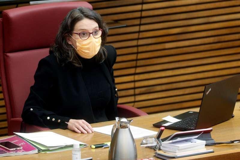 La vicepresidenta del Consell y consellera de Igualdad y Políticas Inclusivas, Mónica Oltra, en una imagen de archivo. EFE/Kai Försterling/Archivo