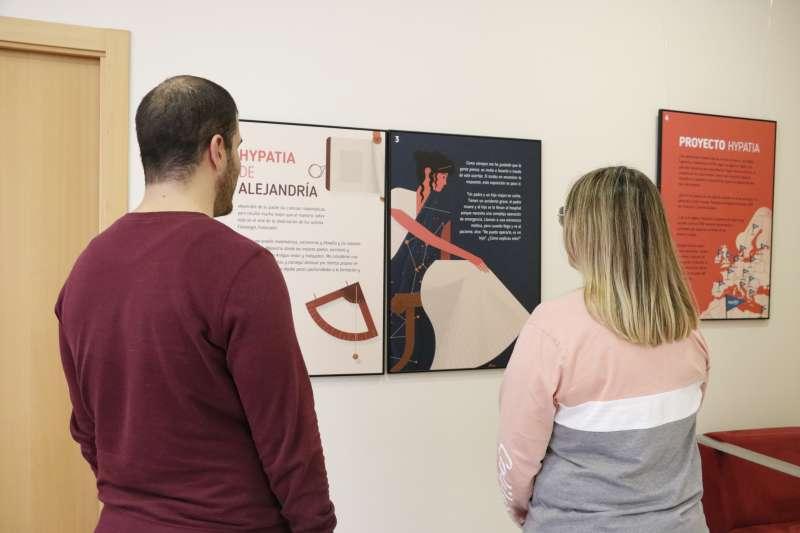 Exposición en la Casa de la Dona. EPDA