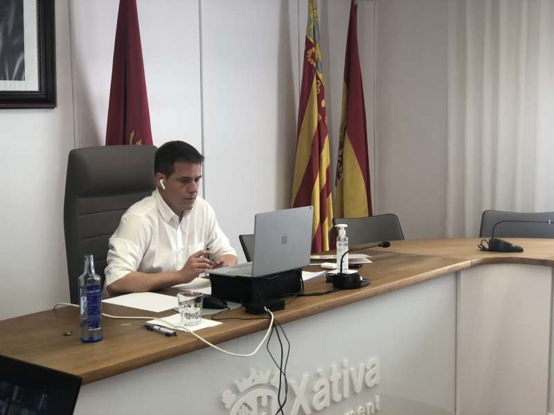 Pleno en Xàtiva. EPDA