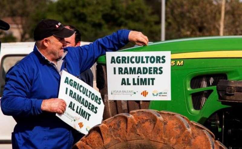 Protestas de los agricultores. EFE
