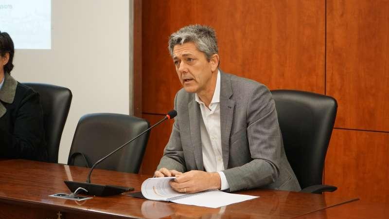 L?alcalde, Josep Vicent Garcia. / EPDA