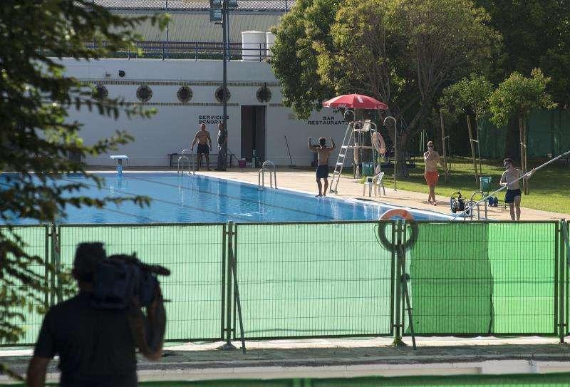 El suceso se ha producido en una piscina privada de una urbanización de Estivella. EFE/Archivo