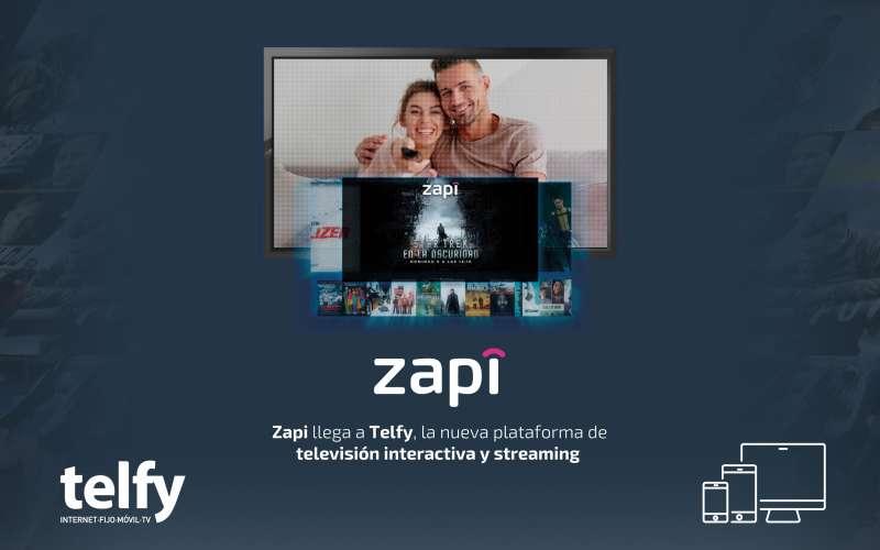 Zapi llega de la mano de Telfy