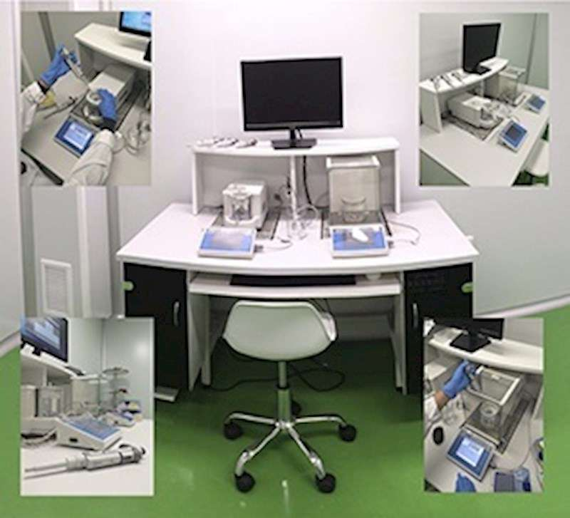 Laboratorio de Servytronix, en una imagen de la empresa.