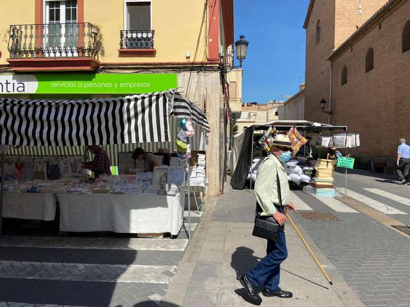 Mercado ambulante de Alboraya. EPDA