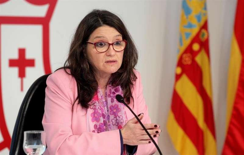 La vicepresidenta y portavoz del Consell, Mónica Oltra. EFE/Kai Försterling/Archivo