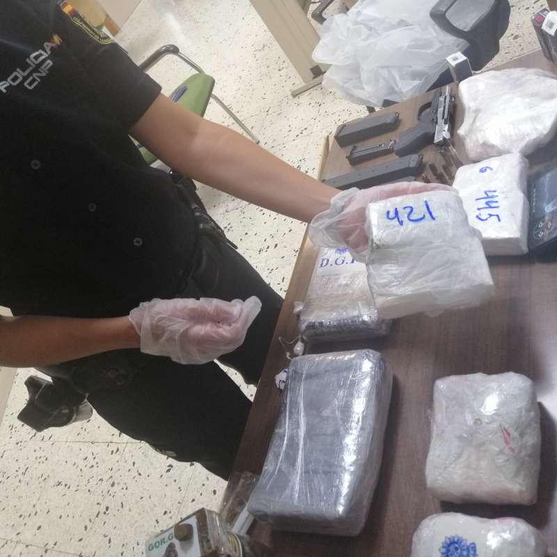 Drogas incautadas. POLICÍA VALÈNCIA