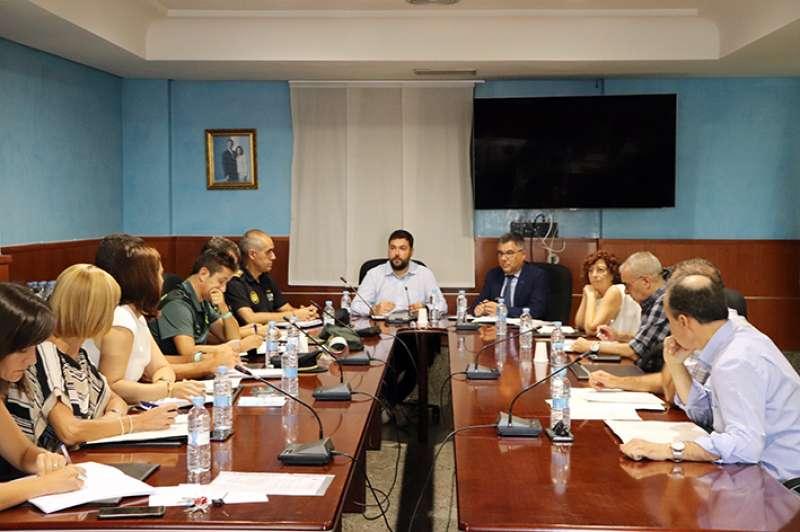 Reunió de la Junta Local de Seguretat de Rafelbunyol. EPDA