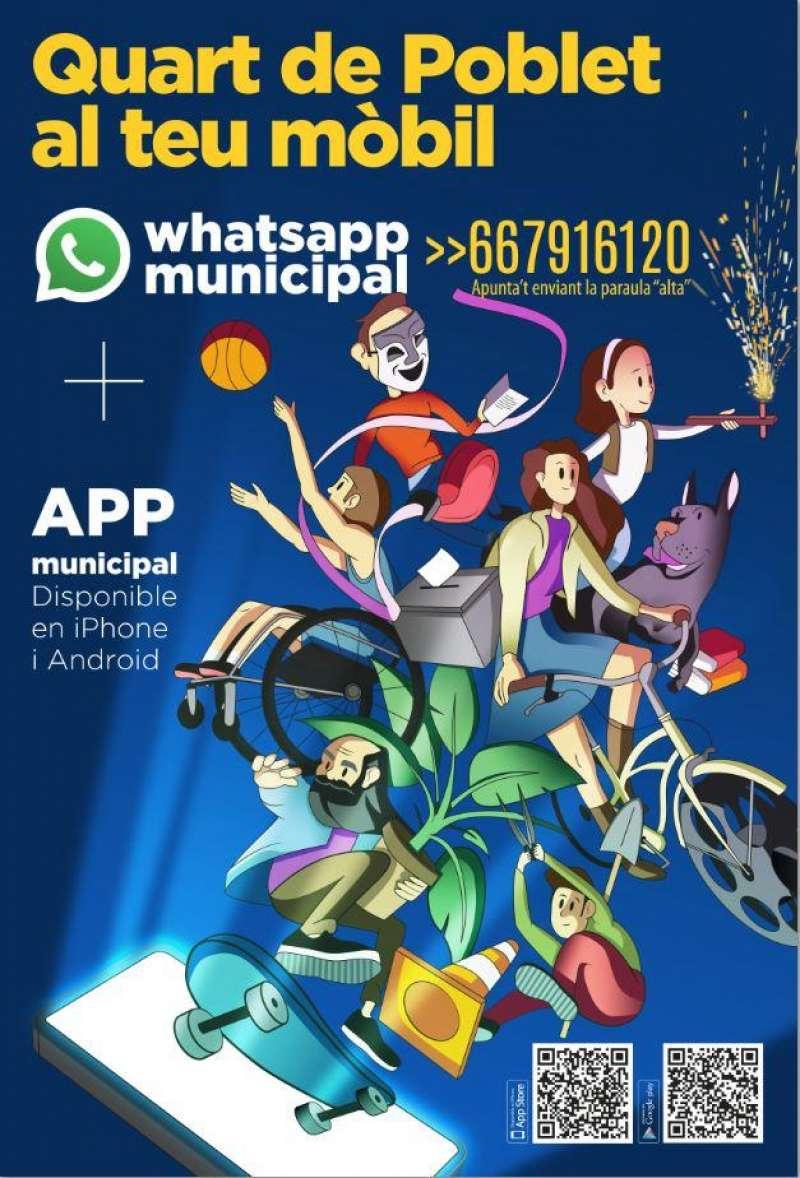Whatsapp municipal Quart. EPDA