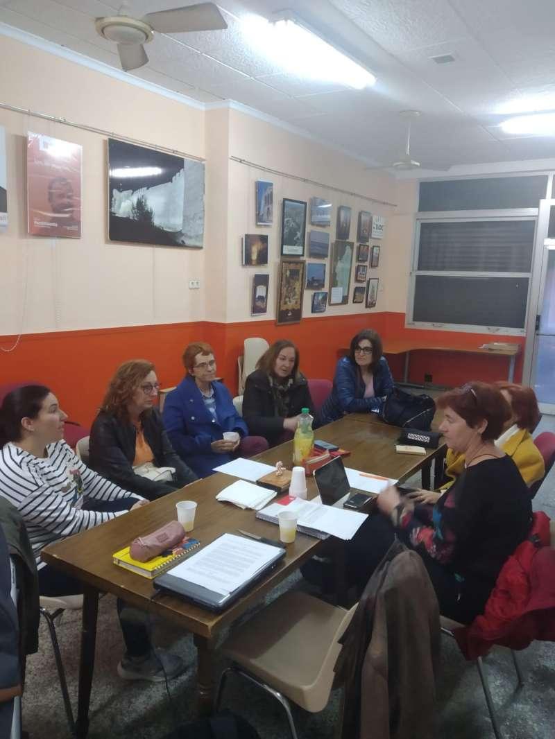 Reunió de Dones amb Compromís. EPDA