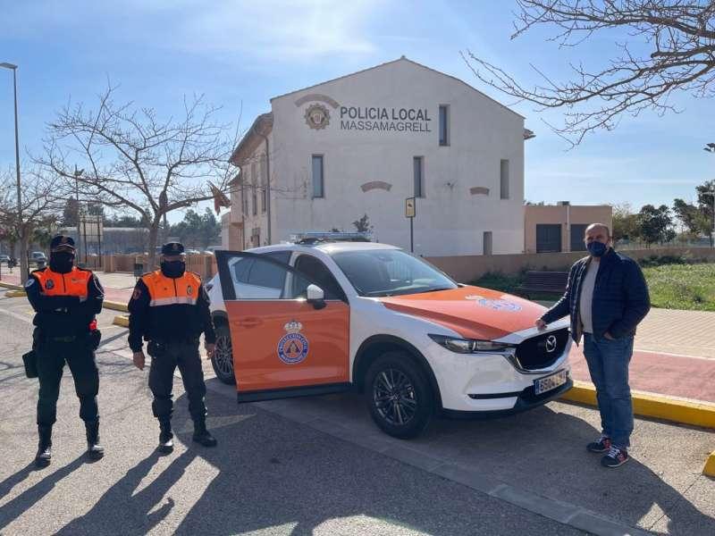 Nuevo coche de Protección Civil de Massamagrell. EPDA