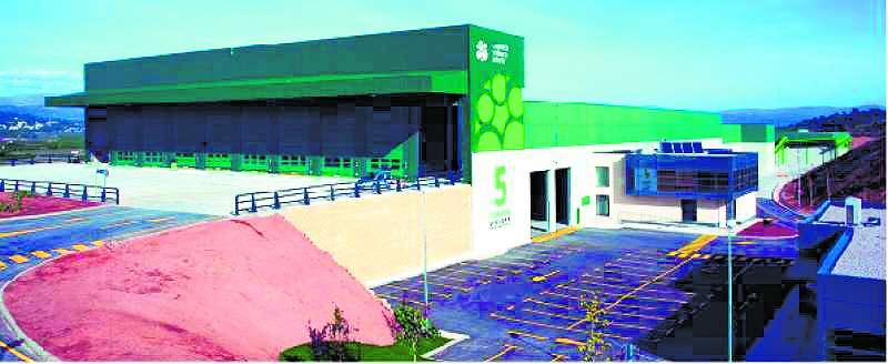 Planta de tratamiento de residuos de Llíria. / EPDA