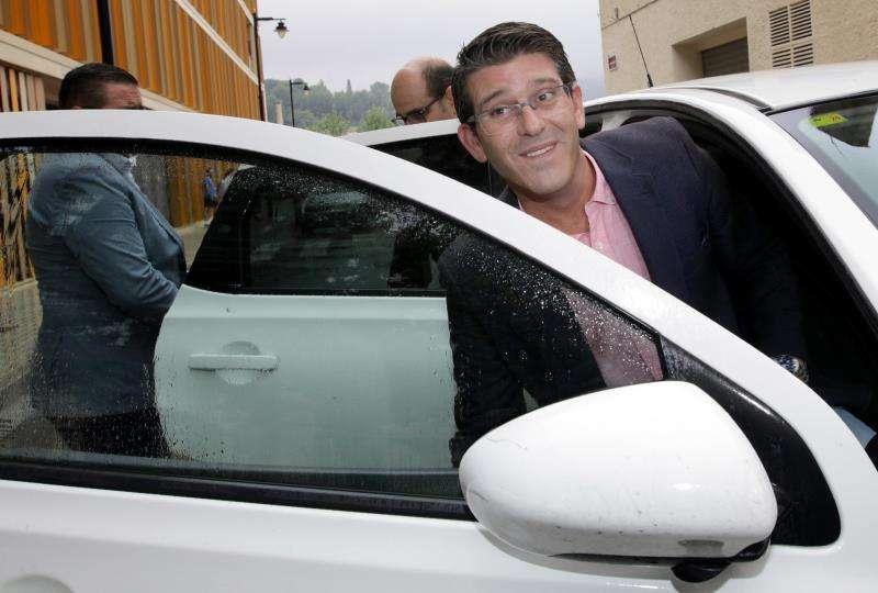 El expresidente de la Diputación de Valencia y alcalde de Ontinyent, Jorge Rodríguez, en una imagen de archivo. EFE/Archivo