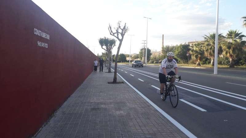 Un ciclista per Catarroja. EPDA