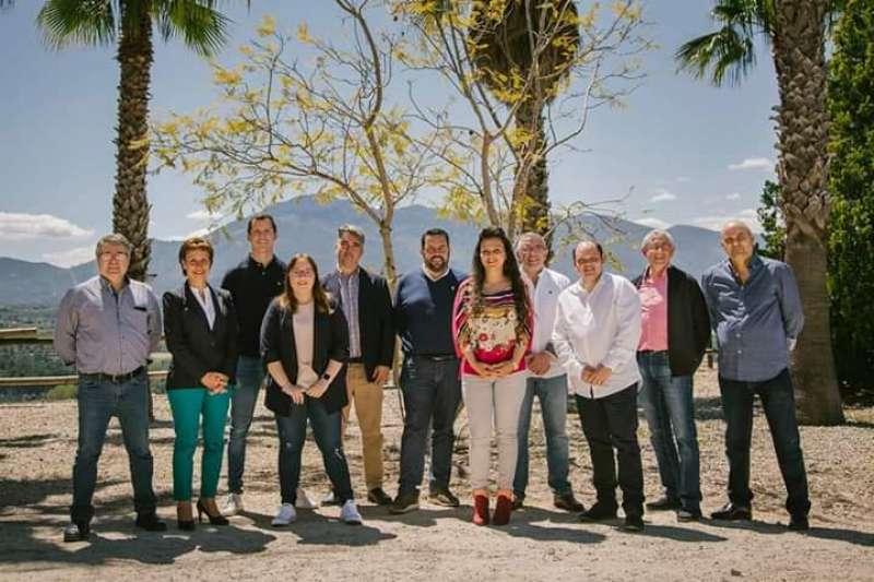 Miembros del PP de la Pobla del Duc. EPDA