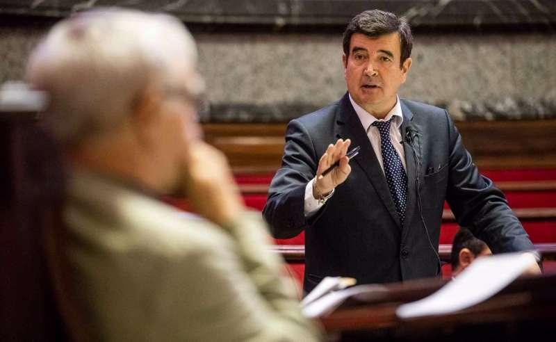El portavoz de cs, Fernando Giner. EPDA