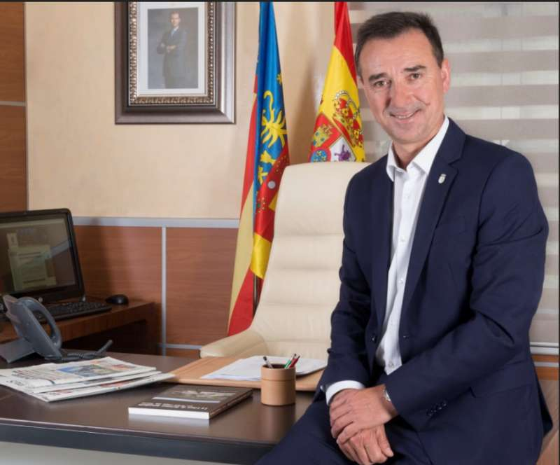 Robert Raga, alcalde de Riba-roja. / EPDA