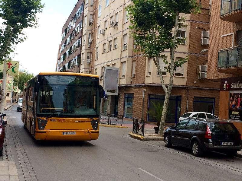 Un autobús en una imagen de archivo. EPDA
