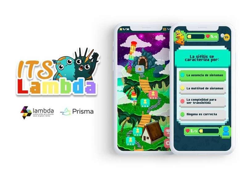 Grafismo del juego, en una imagen de Lambda.