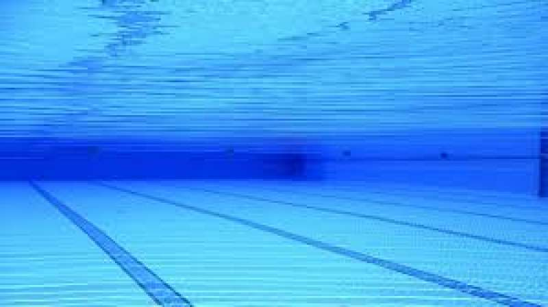 Una piscina en una imagen de archivo.