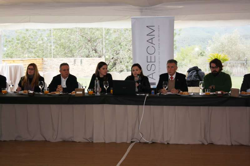 Encuentro de Asecam en La Baronia. EPDA