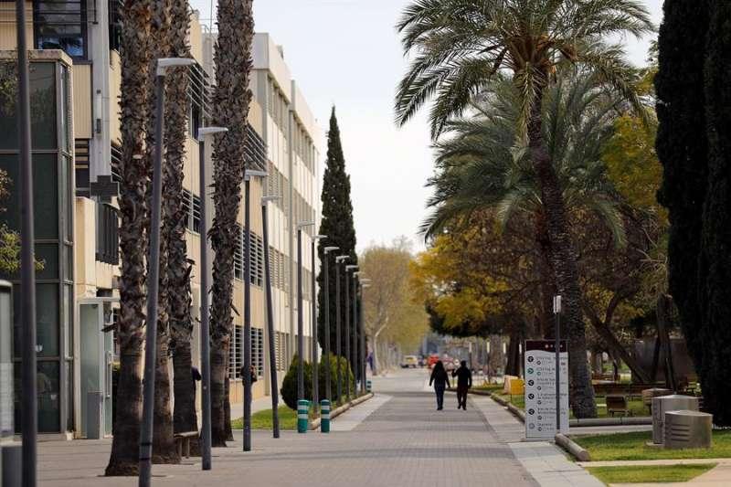 En la imagen el campus de la UPV tras decretarse el estado de alerta EFE/Manuel Bruque/Archivo