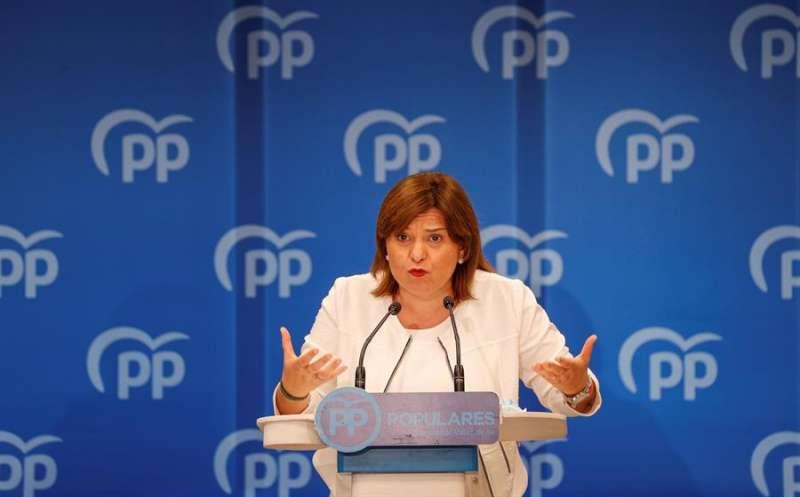 La presidenta del PPCV, Isabel Bonig. EFE