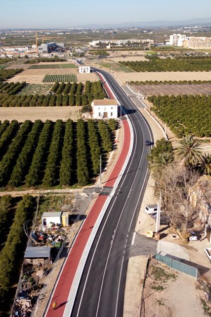 Imagen de la carretera. FOTO: DIVAL