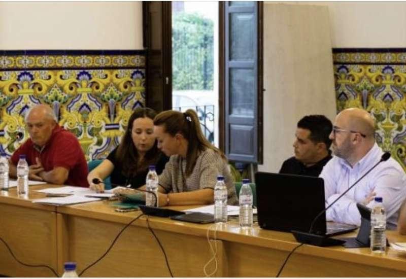 Concejales de PP y Ciudadanos en Rocafort. EPDA