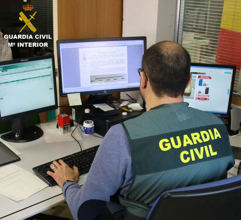 Imagen archivo de un Guardia Civil. -EPDA