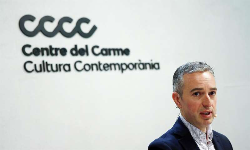 El director del Consorci de Museus de la Comunitat Valenciana, Jose Luis Perez Pont.
