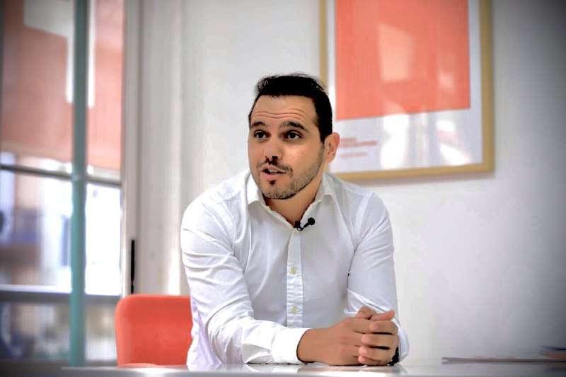 El concejal y portavoz de Ciudadanos Paterna (Cs), Jorge Ibáñez. EPDA