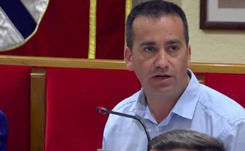 Javier Gil, portaveu de Compromís per Mislata. -EPDA
