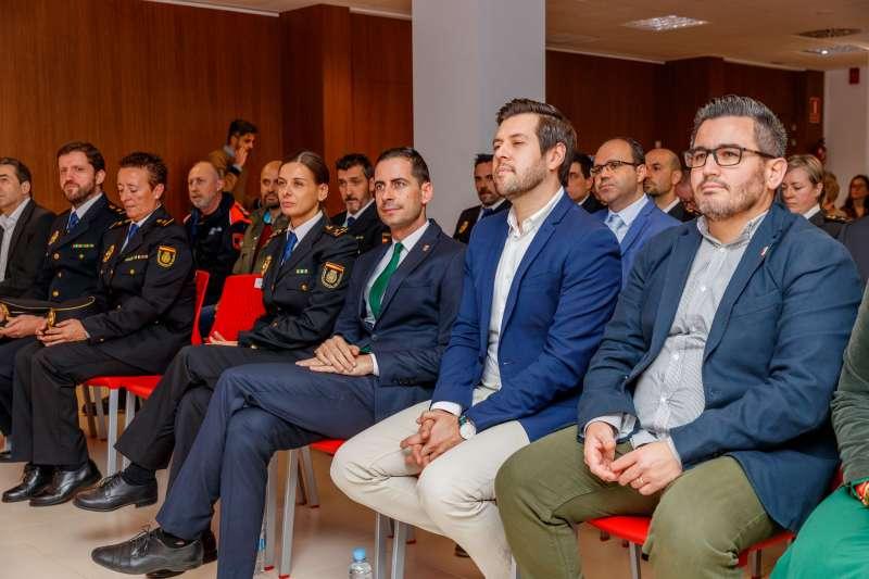 Cuerpo de Policía de Mislata en el 196 Aniversario. -EPDA