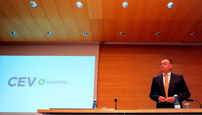 El presidente de la CEV, Salvador Navarro. EFE