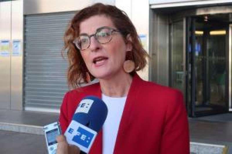 La eurodiputada de Ciudadanos Maite Pagazaurtundua. EFE
