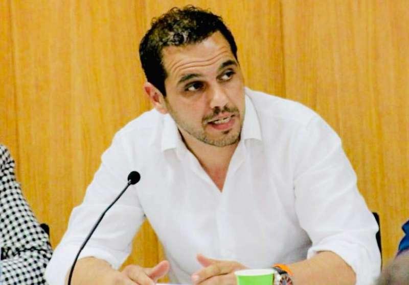 El portavoz de Ciudadanos, Jorge Ibáñez. EPDA