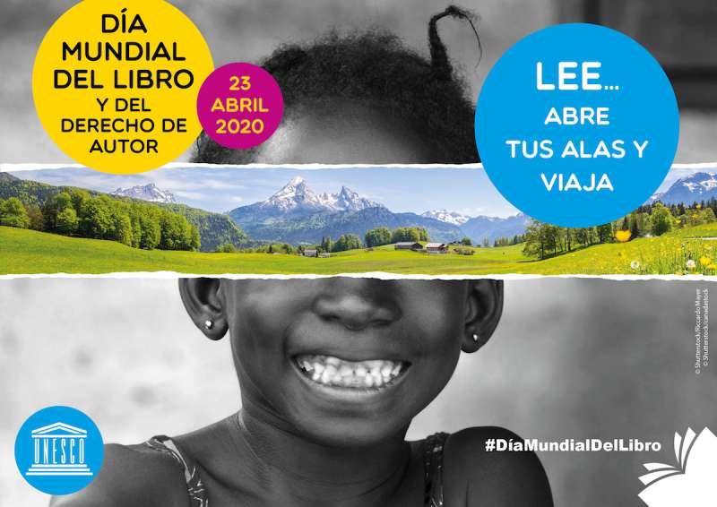 Cartel del Día del Libro de la UNESCO. / EPDA