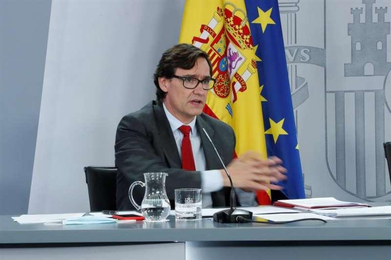 El ministro de Sanidad, Salvador Illa. Archivo