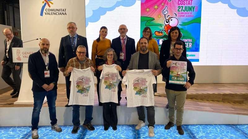Presentación de la novena edición de la 10K Fundación Divina Pastora Alboraya contra el Cáncer.