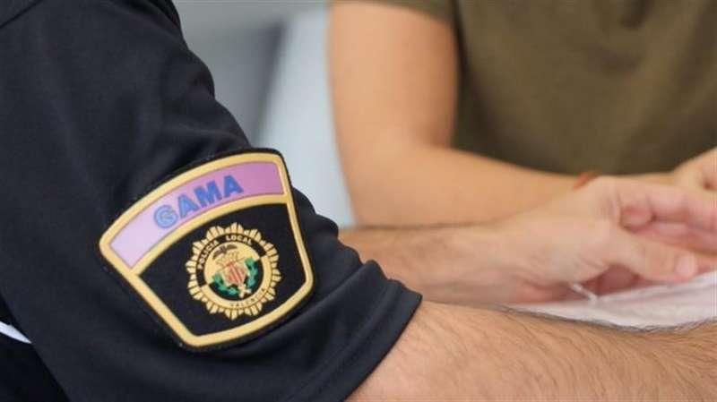 Imagen del grupo Gama de la Policía Local de València.EFE