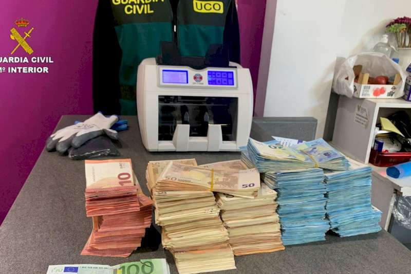Dinero incautado/EPDA